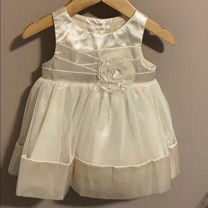 Sparkly Gold Dress 3-6 months